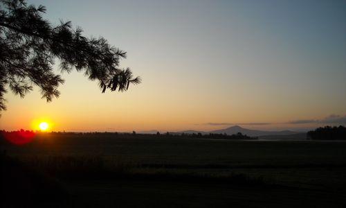 Lever soleil 15 août 09