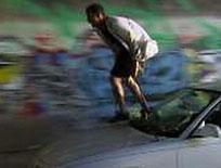 Car surfing
