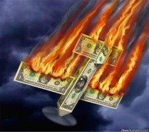 Dollar crashing and burning